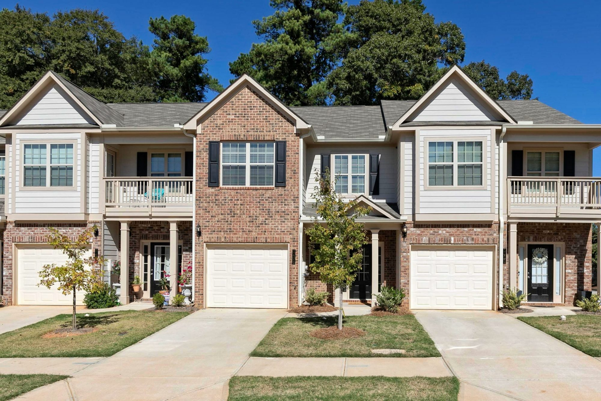 the Americus townhome in Kings Lake