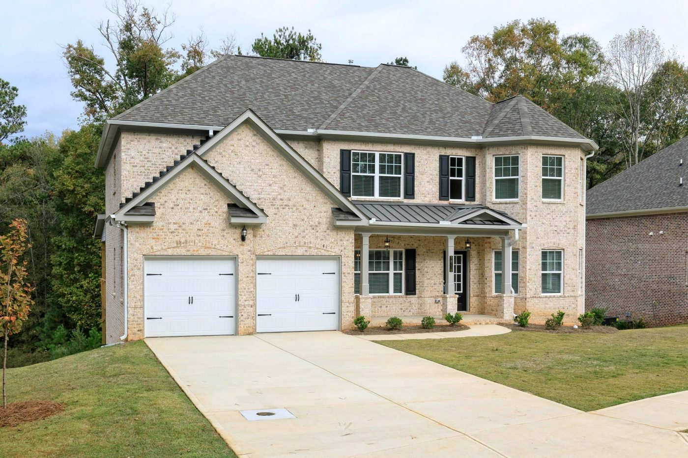 a new construction home in conyers in centennial village