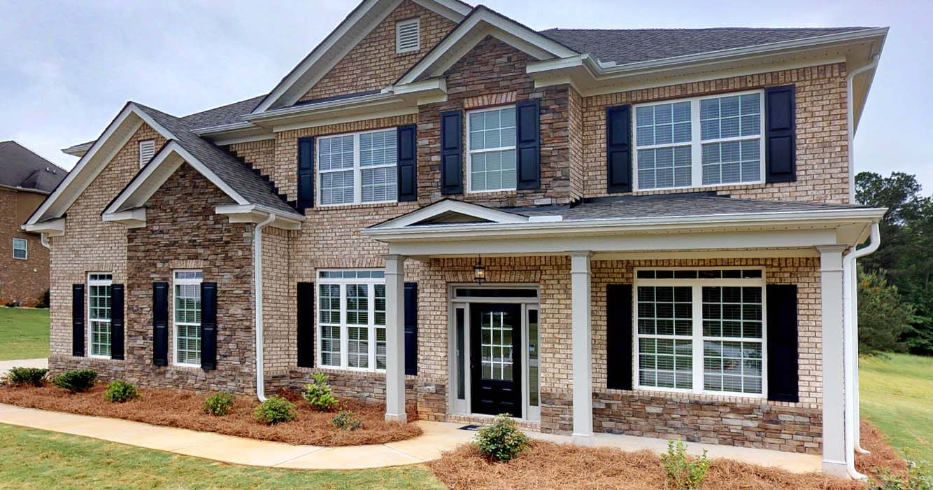 A new construction home in metro Atlanta