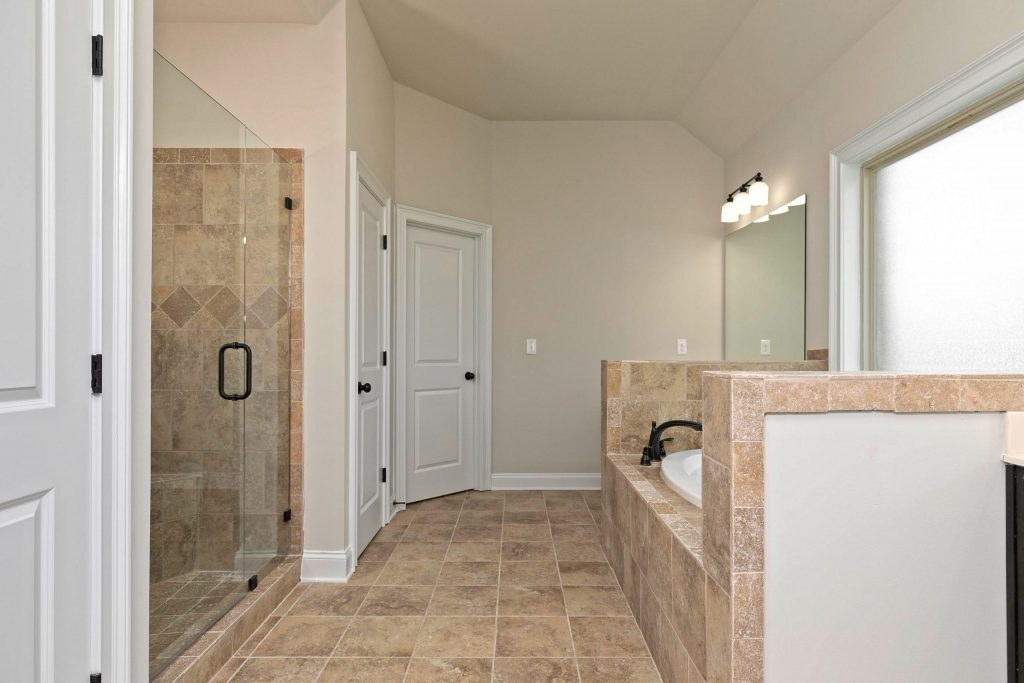 a master suite with standard features in the preakness