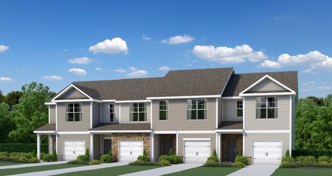 Morning Creek Forest townhomes